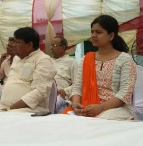 ias 22th rank neha with mp ravindra kushwaha